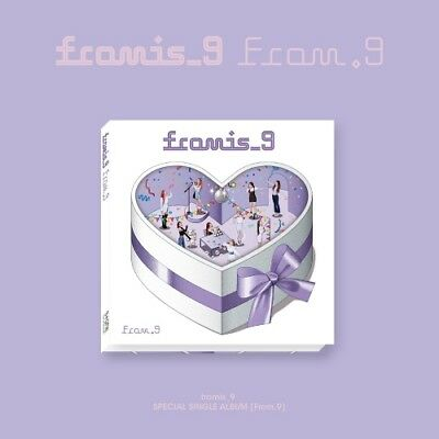 fromis_9 From.9 Special Single Album CD + 2 PHOTOCARD + INVITATION CARD + POSTER