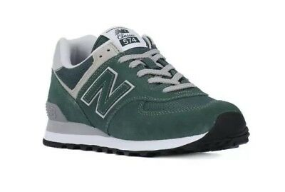 save off f09c4 58774 NEW BALANCE CLASSICS Traditionnels Pine Green Sneaker Ml574Egr Shoe Footwear