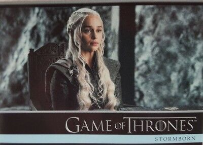 GAME OF THRONES Season 7 Trading Card Set of 81 Rittenhouse 2018