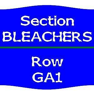1-15  Chicago Cubs vs. San Diego Padres Tickets  7/19 BLEACHERS