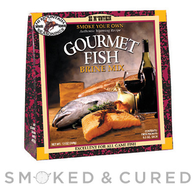 Fish Brine - Gourmet Fish Brine - Hi Mountain - Smoked Fish & Seafood