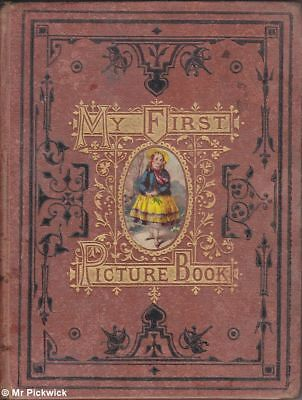 MY FIRST PICTURE BOOK 1880 HC Book