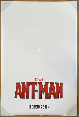 ANT-MAN MOVIE POSTER 2 Sided ORIGINAL INTL Advance 27x40 PAUL RUDD