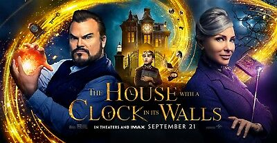The House With A Clock In Its Walls(2018) Digital HD code WATCH NOW dvd included