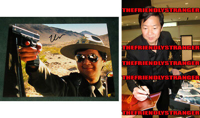 Ken Jeong The Hangover Signed 11x14 Photo Coa 3 Photographs Movies