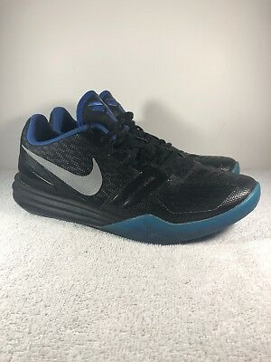 da63bad7e667 NIKE KOBE KB Mentality 704942 005 Men s Size 9.5 Black Blue Mamba ...