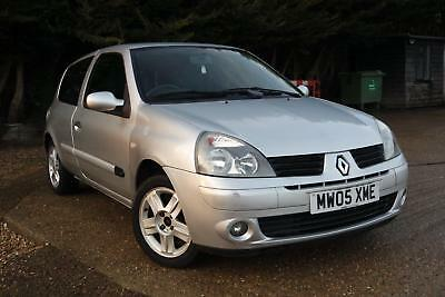 RENAULT CLIO 1.4  Extreme Silver Manual Petrol, 2005