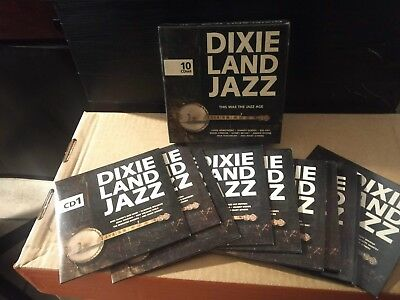 Dixieland Jazz - This Was The Jazz Age BOX 10 CD ottime condizioni