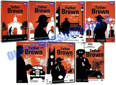 FATHER BROWN: COMPLETE TV Series 1-5 Seasons 12345 BBC/DVD