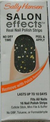 Sally Hansen Salon Effects Real Nail Polish Strips, #470 Lust Rolls - 16 Count