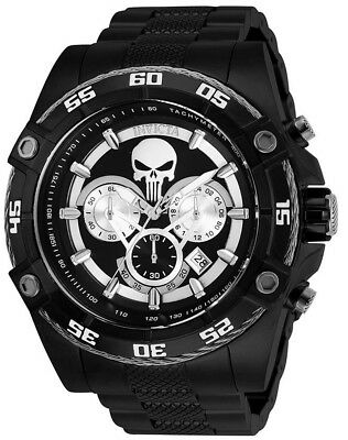 Invicta 26862 Marvel L.E Black Dial Black IP Stainless Chronograph Men's Watch