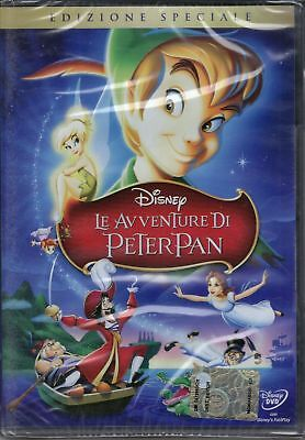Dvd Disney **LE AVVENTURE DI PETER PAN** in FRANCESE *nuovo*