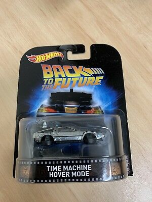 Hot Wheels Retro Back To The Future Time Machine Hover Mode