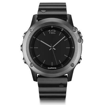 Garmin Fenix 3 Sapphire Watch Sports GPS Running Activity Monitor - Steel Strap