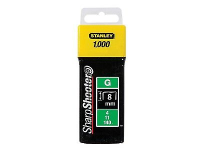 Stanley 8 mm Staples Box Of 1000-1-TRA705T