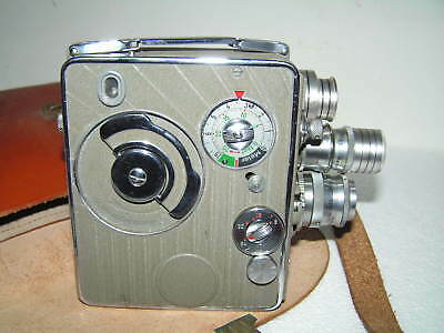 Nizo Heliomatic 8 S2R - Camera Vintage Cine Video 2X8Mm