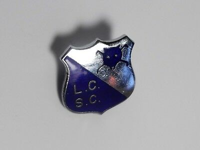 Leicester City Fc -  Vintage Enamel Supporters Club Badge.