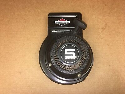 Briggs & Stratton 5 HP Recoil Starter Assembly pull start rope 135202 - 0263 01