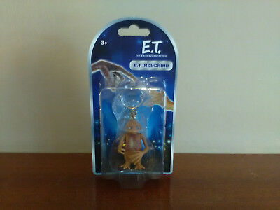 """Official E.T. (Extra Terrestrial) 2""""Inch Figure Keyring ~ Keychain (New)"""