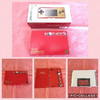 Nintendo Game Boy AdvanceSP Micro NES color and Mother 3 from jAPAN