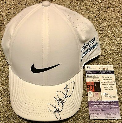 55f163a664c Rory Mcilroy Signed Nike Golf Hat Pga Tour 2018 Masters Us Autographed +Jsa  Coa