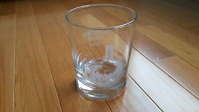 USS JOHN WARNER SSN 785 Old Fashioned Glass: US NAVY FAST ATTACK SUBMARINE