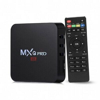 TV BOX MXQ PRO 4K 2GB +16GB Smart IPTV BOX  Android 7.1 64bit WiFi