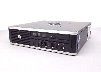 HP 8300 Elite USDT PC: i5-3470s CPU, 8GB RAM, 320GB HDD, DVDRW, WiFi, Windows 10