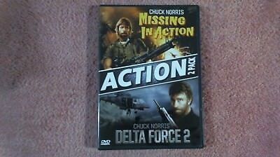Missing in Action (1984) & Delta Force 2 (1990) (DVD, 2010) Chuck Norris