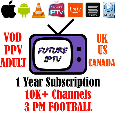 4K Iptv 1 Year Uk Us Canada World Sports Movies Tv Shows Free Trial Cheapest