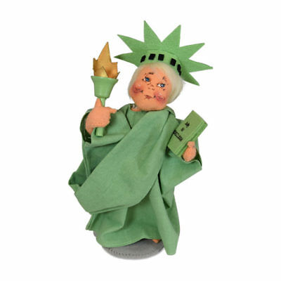 """2019 ANNALEE ~ """"Statue of Liberty""""~ #850119 ~ 6"""" ~ Limited Production ~ NWT"""