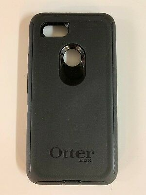 OtterBox Defender Series Case Cover for Google Pixel 3 XL Black No Holster Clip