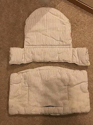 Stokke tripp trapp Cushion Set For Seat And Back Plate Excellent Used Condition