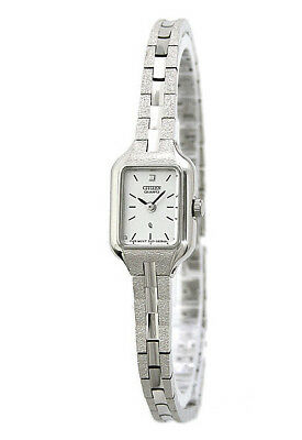 Citizen EH3850-53A Women's Stainless Steel Silver-Tone Quartz Analog Dress Watch