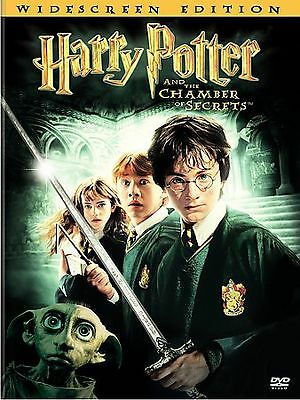 Harry Potter and the Chamber of Secrets (DVD, 2003, 2-Disc Set) w/ Slip Cover