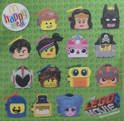 McDonalds Happy Meal Toy 2019 Lego Movie 2 PRESALE Complete Set of 14 Toys
