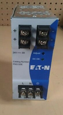 Eaton PSG120E Power Supply                                 4E