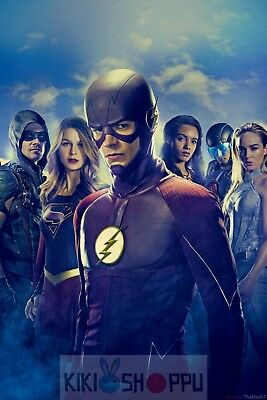 Poster A3 Arrow The Flash Supergirl Hero DC Comic Serie Cartel 02