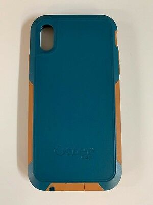 new style 4bf93 dd14b OTTERBOX PURSUIT SERIES Case Cover For Apple iPhone XR Autumn Lake Blue  Brown