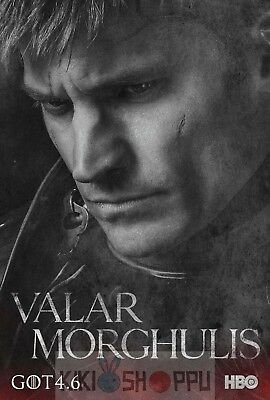 Poster A3 Juego de Tronos Jaime Lannister / Game Of Thrones Serie Cartel 01