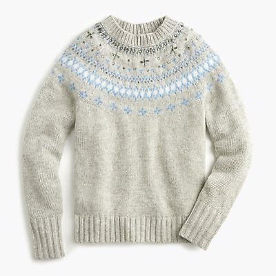 Ladies Sweater Size 16 Grey Marl M/&S BNWT RRP £39.50 Hand Embellished