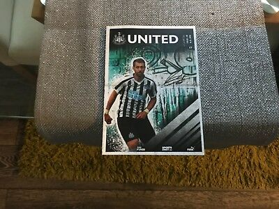 Newcastle United v Cardiff City.  January 2019. Match Programme, New!! Mint!!