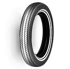 Shinko E240 Double Whitewall MT90B16 Classic Tyre Harley Softail Bobber Retro
