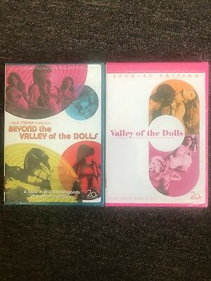Valley Of The Dolls And Beyond the Valley of the Dolls 2-Disc Set New