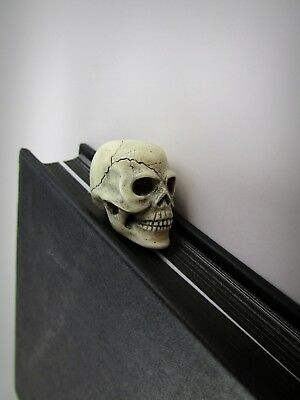 Skull Bookmark handmade