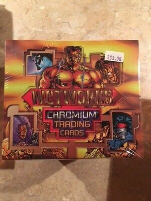 1995 Wildstorm Image Wetworks Chromium Cards Factory Sealed Box - Mint Condition