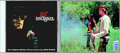 LEGEND OF THE LONE RANGER + GAME OF DEATH John Barry LIMITED IMPORT mint