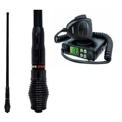 Uniden Uh5000 80 Channel Uhf Radio + Gme Ae4705B 6.6Dbi Black Heavy Duty Antenna