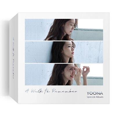 YOONA [A WALK TO REMEMBER] Special Kihno Album Kit+POSTER+Photo Book+Card SEALED