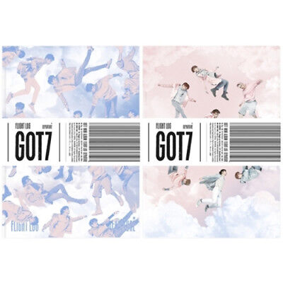 GOT7 [FLIGHT LOG:DEPARTURE] 5th Mini Album RANDOM CD+Photo Book+Card+etc SEALED